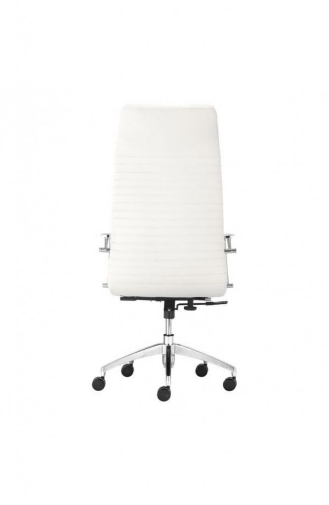 Instant Advisor High Back White Office Chair 3