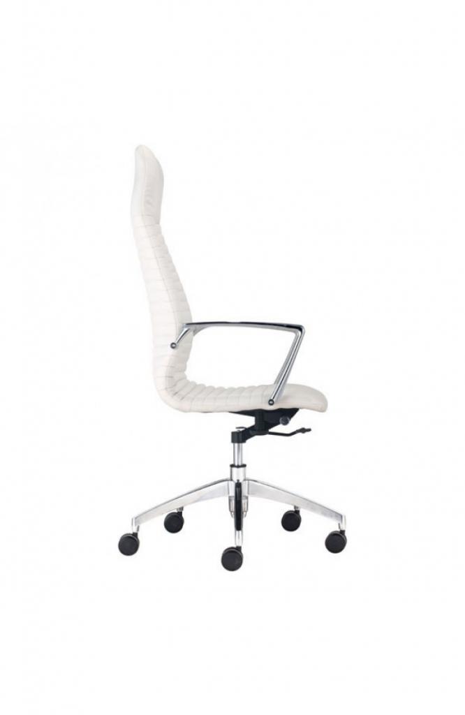 Instant Advisor High Back White Office Chair 4