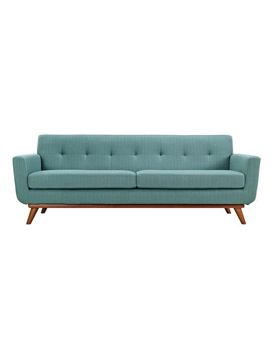 Light Blue Pop Art Sofa