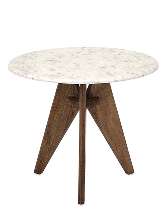 MCM Marble Side Table