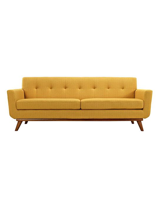 Mustard Yellow Pop Art Sofa