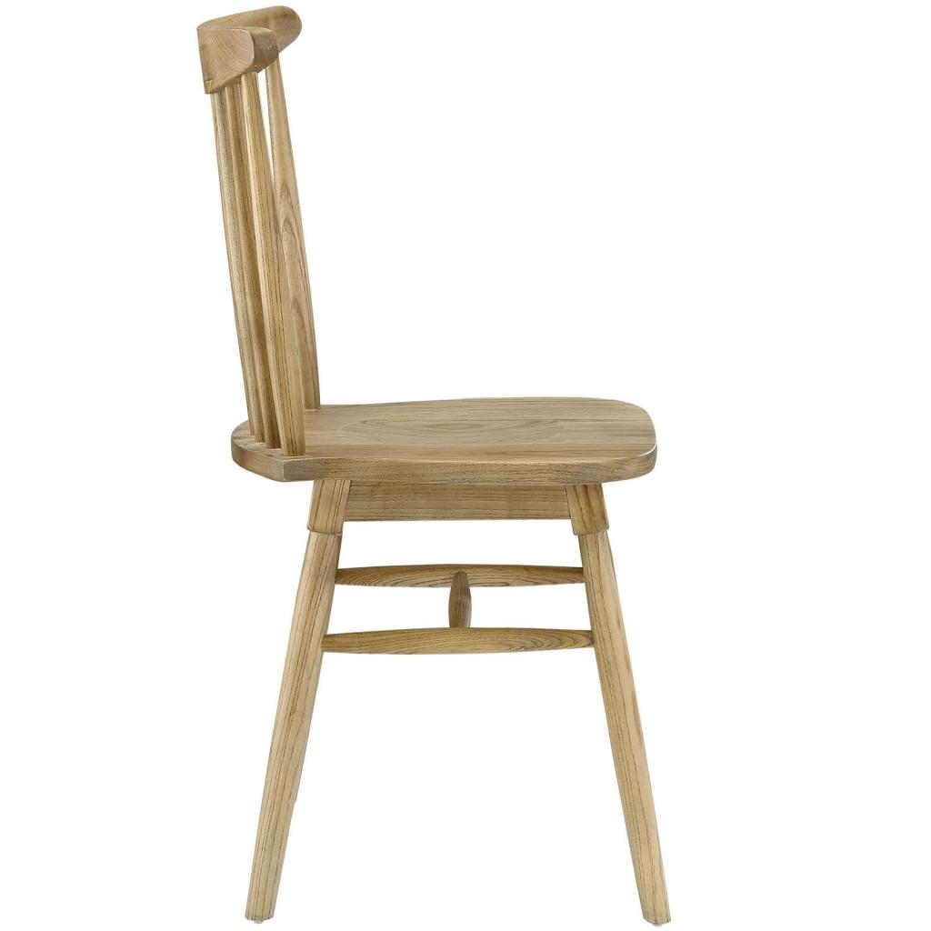 Natural Wood Frazen Chair 2