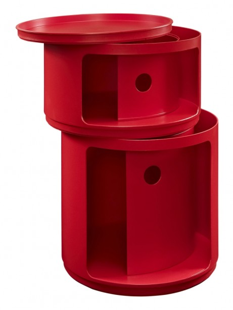 Red Circular 2 Storage Table 3 461x614