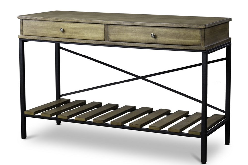 Route Wood Console Table