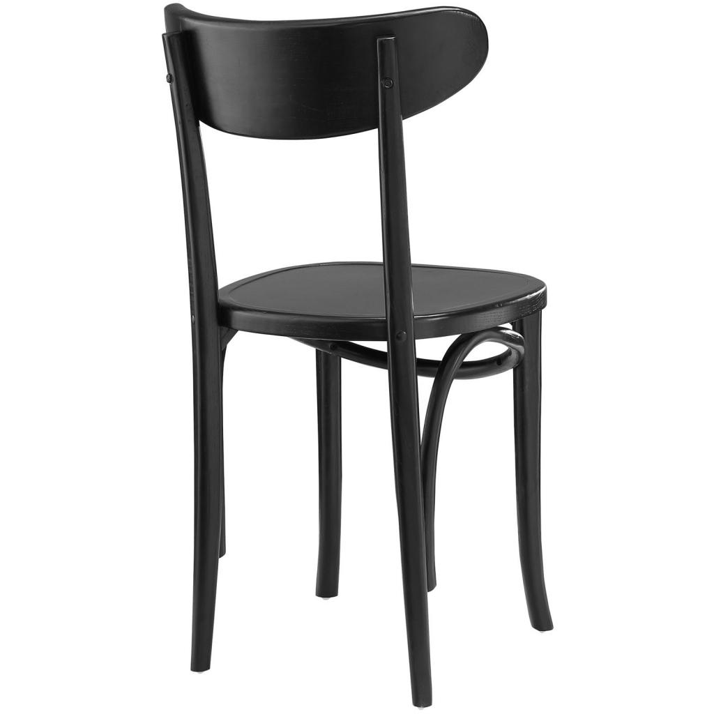 Incroyable Sherwood Black Wood Chair