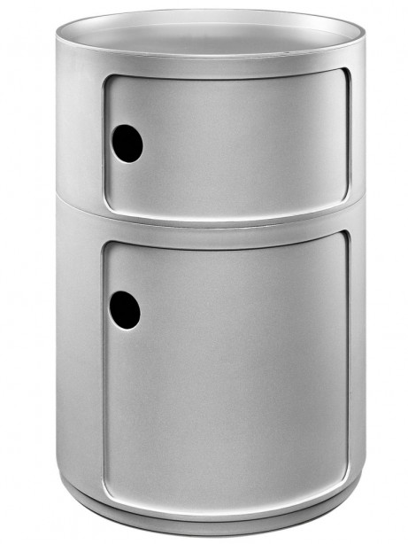 Silver Circular 2 Storage Table 3 461x614