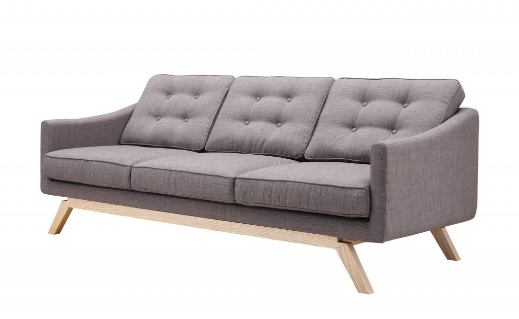 Slate Mid Century Sofa 2