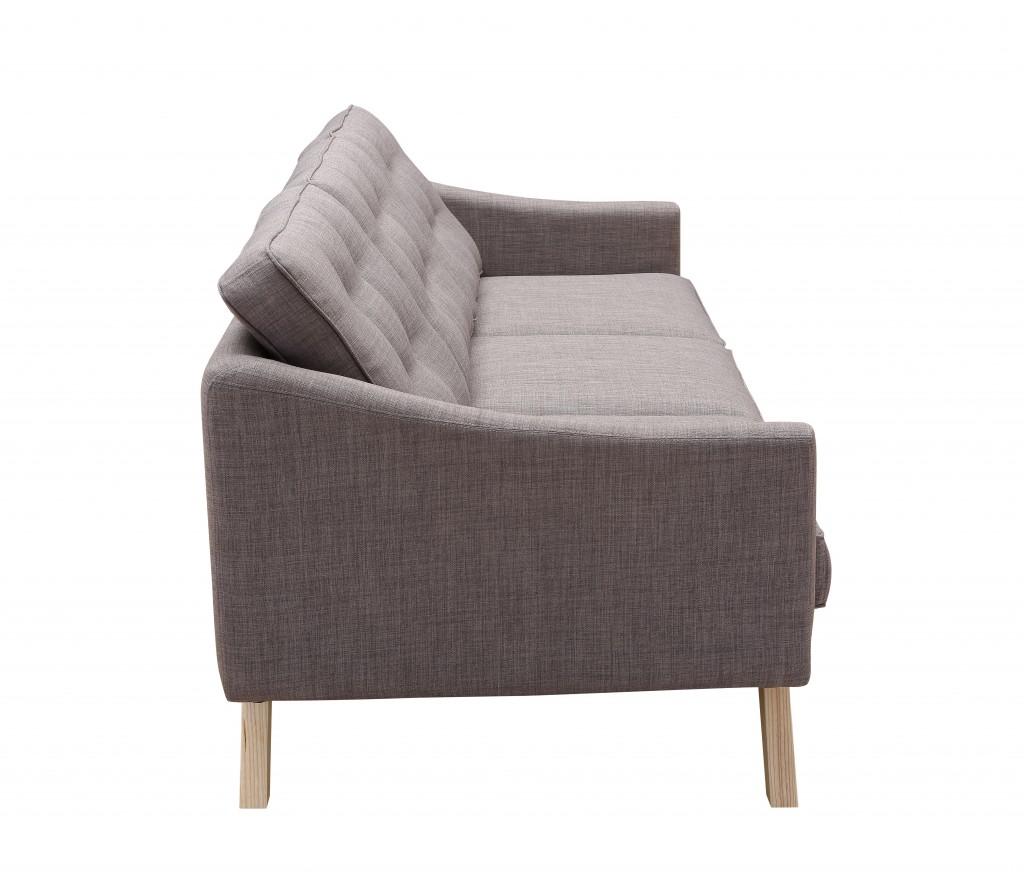 Slate Mid Century Sofa 3