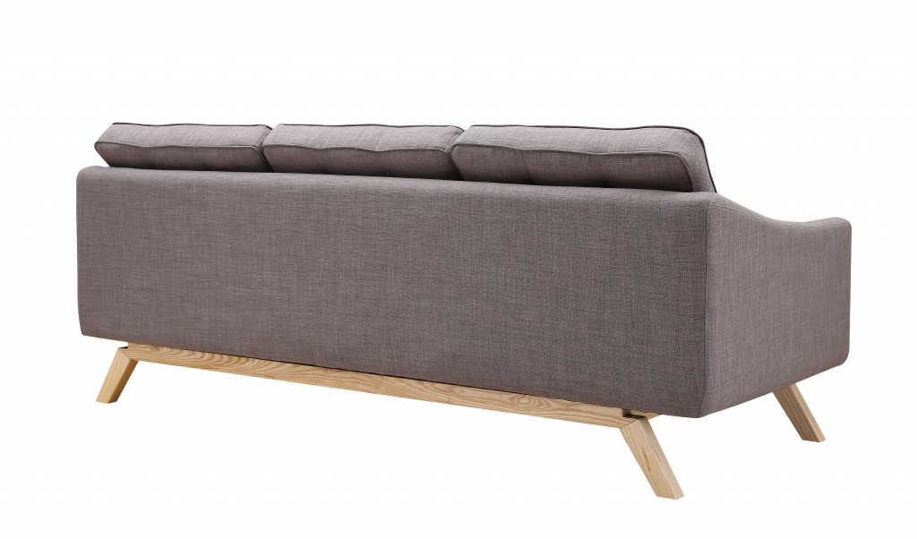 Slate Mid Century Sofa 4