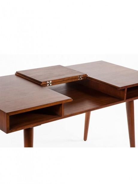 Teak Wood Writing Desk 461x614