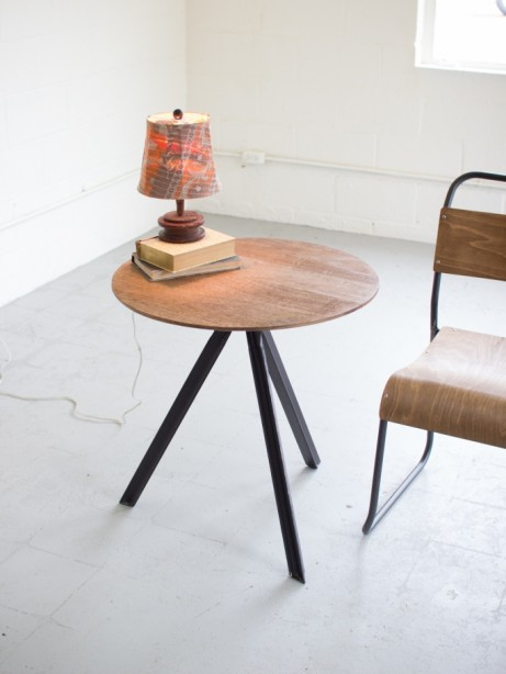 Verbose Wooden Side Table 461x614
