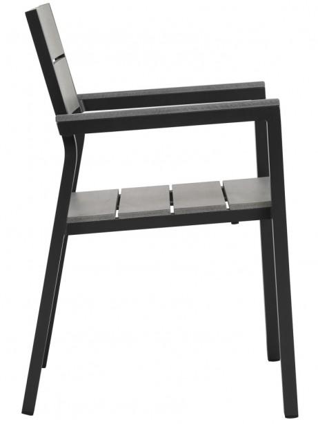 Villa Modern Outdoor Chair Black 2 461x614