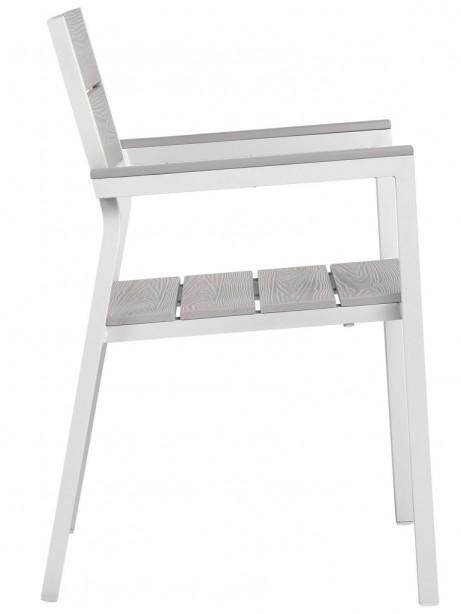 Villa Modern White Outdoor Chair 461x614