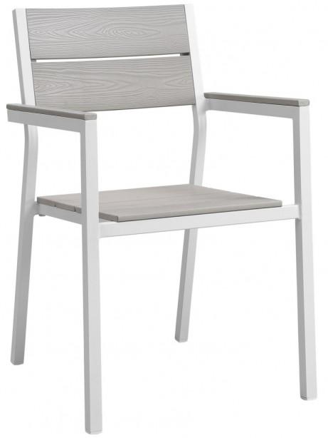 Villa Outdoor Chair White 461x614