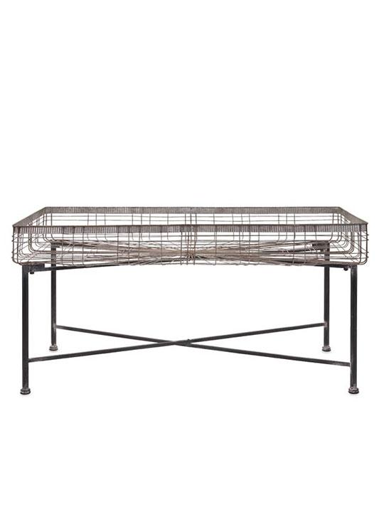 Wire Rectangular Planter Bed