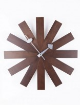 Wood Dial Retro Clock 156x207