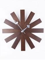Wood Dial Retro Clock 156x207
