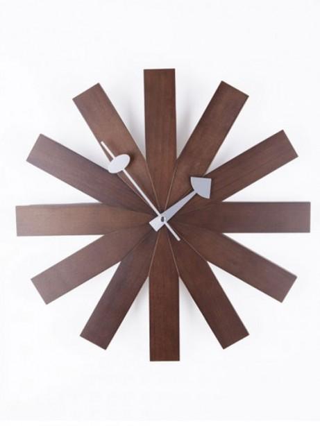 Wood Dial Retro Clock 461x614
