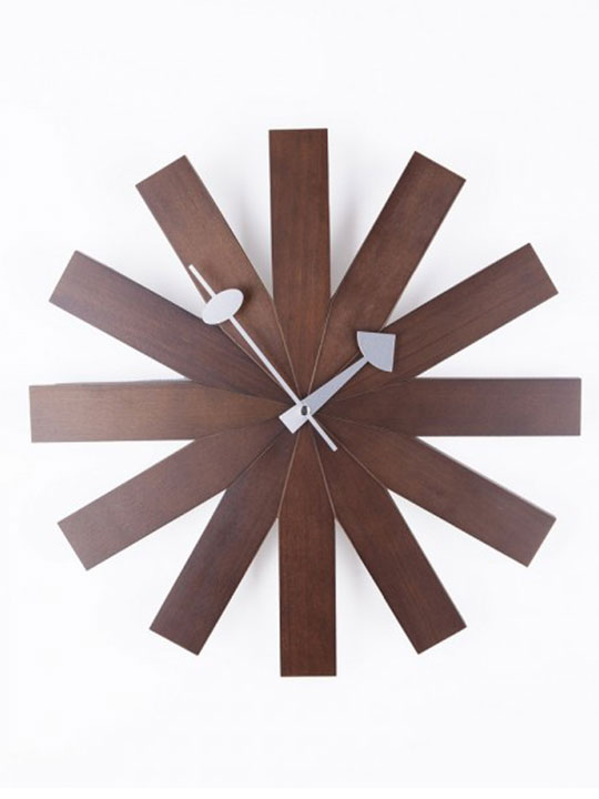 Wood Dial Retro Clock