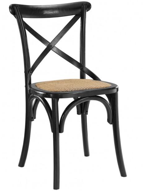 X Black Wood Chair 3 461x614