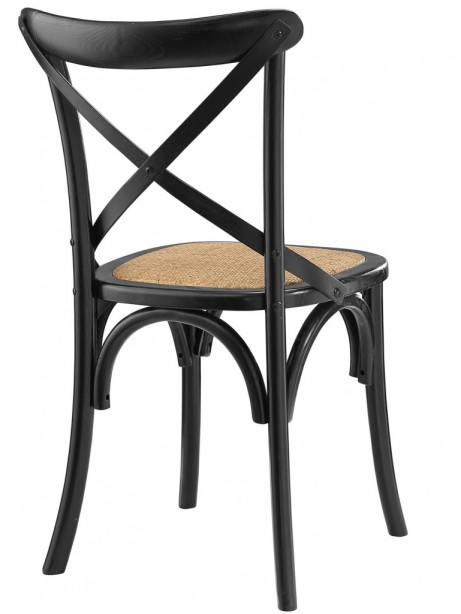 X Black Wood Chair 461x614
