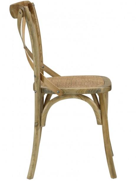 X Natural Wood Chair 3 461x614