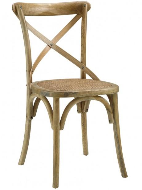 X Natural Wood Chair 461x614
