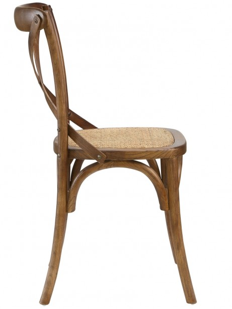 X Walnut Wood Chair 2 461x614