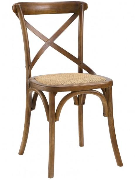 X Walnut Wood Chair 3 461x614