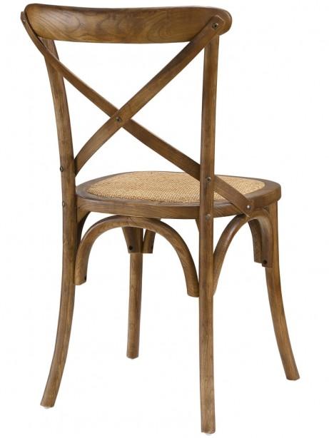 X Walnut Wood Chair 461x614