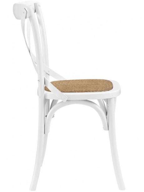 X White Wood Chair 2 461x614