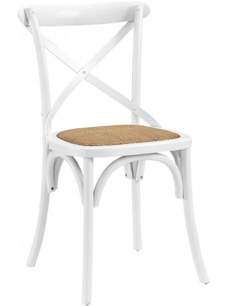 X White Wood Chair 3 461x614