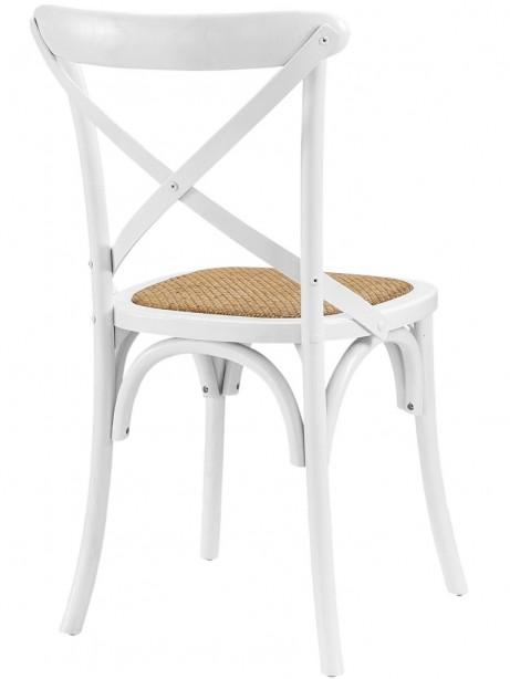 X White Wood Chair 461x614