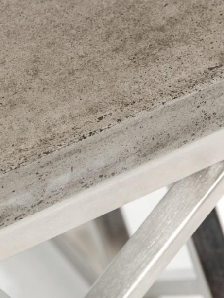 Concrete Chrome Coffee Table 2 461x614