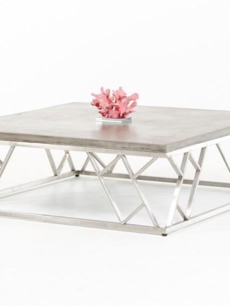 Concrete Chrome Coffee Table 3 461x614