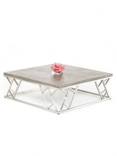 Concrete Chrome Coffee Table1 237x315