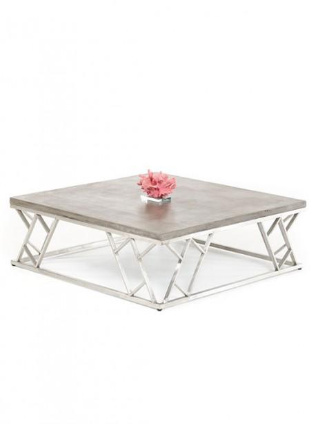 Concrete Chrome Coffee Table1 461x614