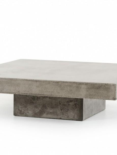 Concrete Square Coffee Table  461x614
