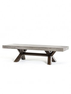 Concrete Wood Coffee Table 237x315