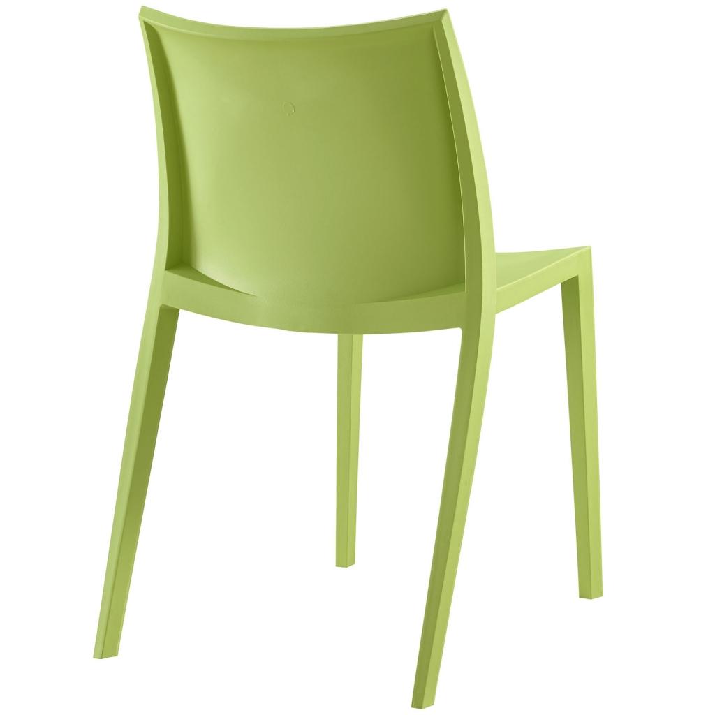 Cove Plastic Green Chair 3