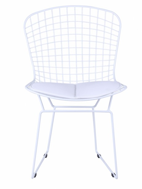 Dyson Modern White Wire Chair 3 461x614