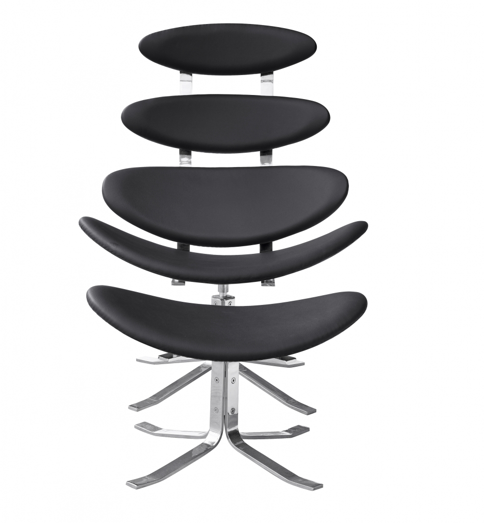 Futurisitc Lounge Chair Black