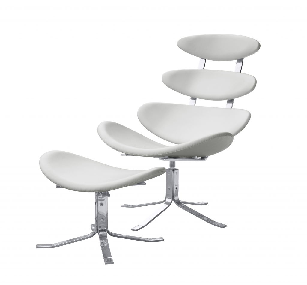 Futurisitc Lounge Chair White 5