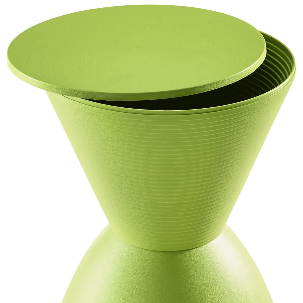 Green Yogi Storage Stool 2