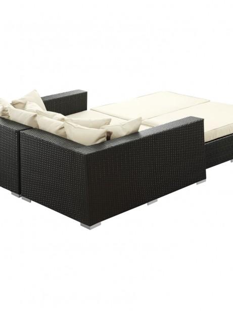 Houston Outdoor Lounge Bed White 2 461x614