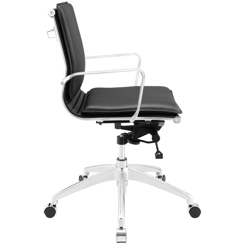 Instant Agent Low Back Black Office Chair 2