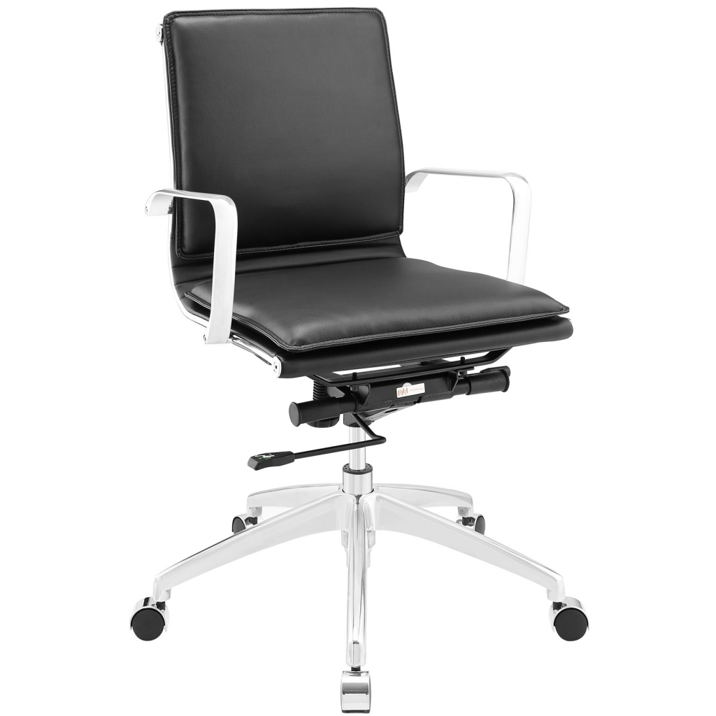 Instant Agent Low Back Black Office Chair
