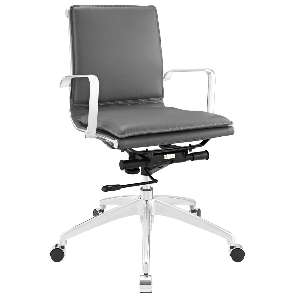 Instant Agent Low Back Gray Office Chair