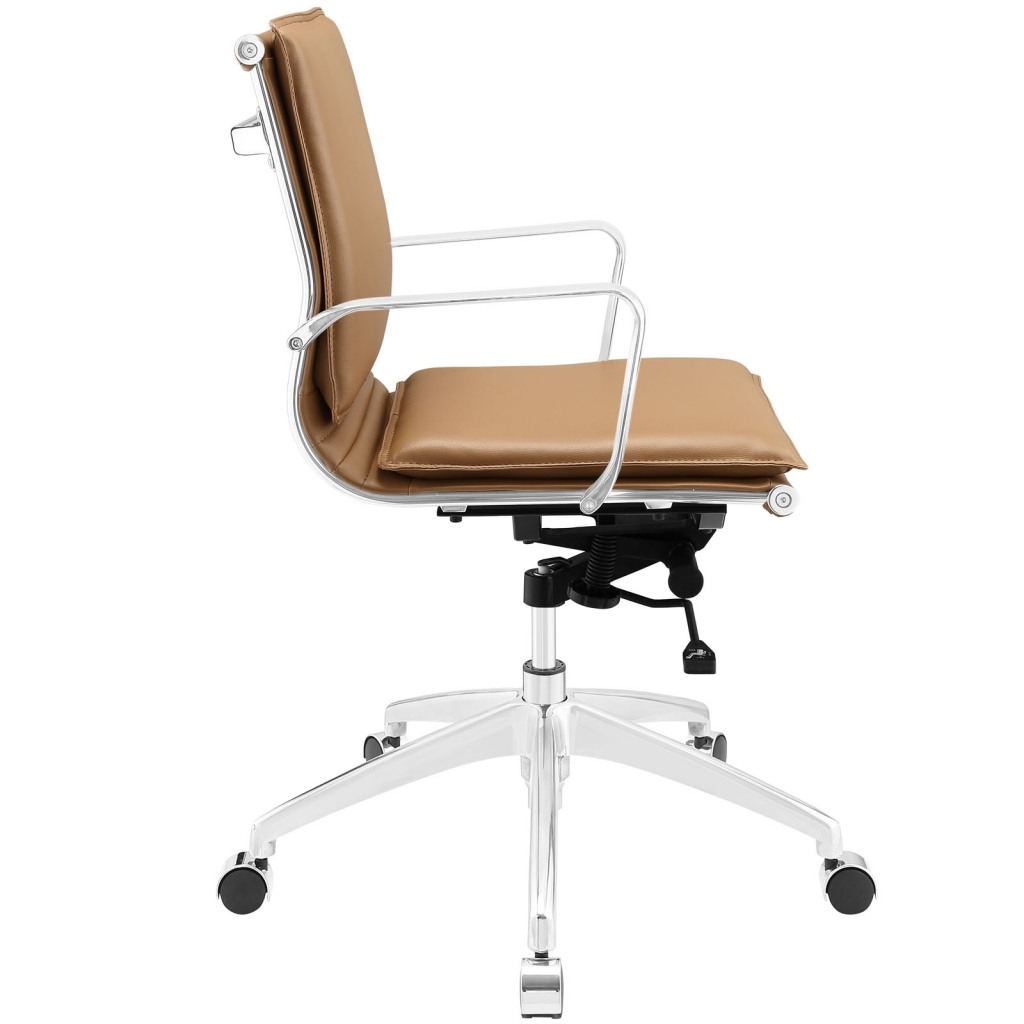 Instant Agent Low Back Tan Office Chair 2