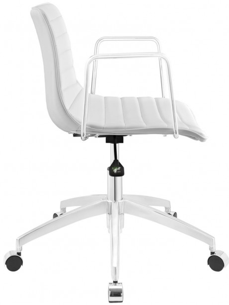Instant Studio White Office Chair 2 461x614